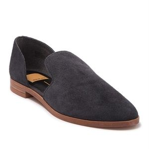 Dolce Vita Carsyn Suede Flat Gray Loafers New 9